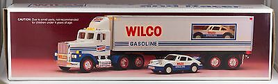 Wilco Gasoline Toy Truck With Lights and Friction Racer 1993 New In Box