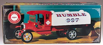 Exxon Humble Toy Tanker Truck With Lights & Sound 2nd In Series New In Box