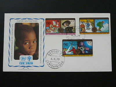 international year of child IYC 1979 FDC Central African Republic 65169