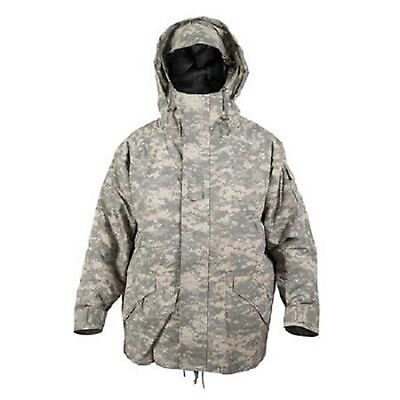 US ECWCS Parka Army UCP ACU AT Digitalt Cold Wet Weather camo Jacke S / Small
