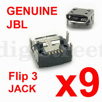 Original JBL Flip 3 4 Charge 2+ 3 Speaker Micro USB Jack Connector Charging Port