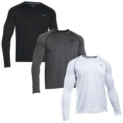 Under Armour Hombre Tech Camiseta De Manga Larga Ua Deporte Gimnasio