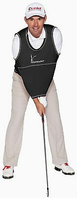 The Golf Swing Shirt Black #6 210-240 lbs Unisex Golf Training Aid Trainer