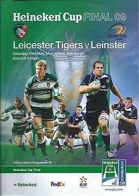 23 MAY 2009 LEICESTER TIGERS v LEINSTER, HEINEKEN CUP FINAL
