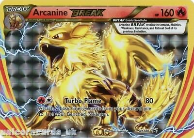 Arcanine Break XY180 Promo Holo Mint Pokemon Card