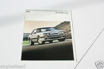 Auto Brochure - Ford - Mustang - 1985 (AB408)