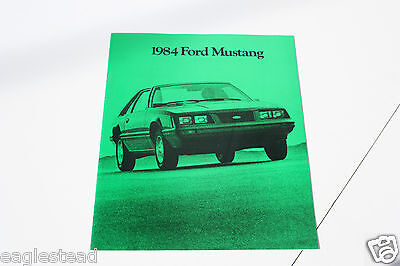 Auto Brochure - Ford - Mustang - 1984 (AB406)