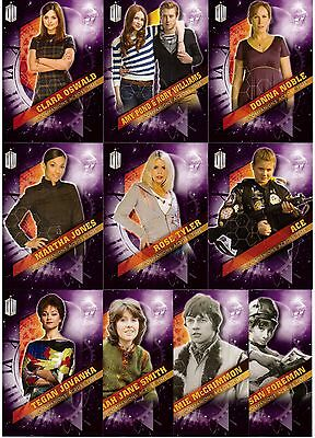 2016 Topps Doctor Who Timeless COMPANIONS ACROSS TIME Insert Set of 10 Amy Pond