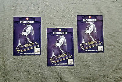Ozzy Osbourne Hohner 3 Sticker Set<<>>NEW