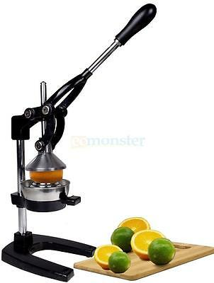 New Orange Hand Press Manual Fruit Juicer Juice Squeezer Citrus Orange Lemon