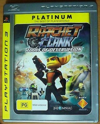 Ratchet & Clank, Tools of Destruction - Playstation 3 PS3 Game