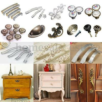 Vintage Kitchen Furniture Cupboard Cabinet Closet Door Knobs Drawer Pull Handles