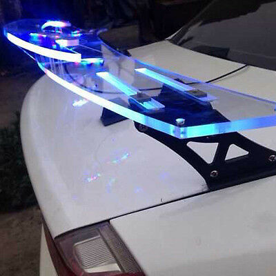 """Universal JDM 51"""" Color Changing Lightweight GT Rear Trunk Wing Racing Spoiler"""