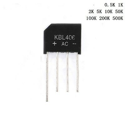 KBL406/KBL410/KBL608 4A/600V 4A/1000V 6A/800V - Free P&P Rectifier Bridge Diode