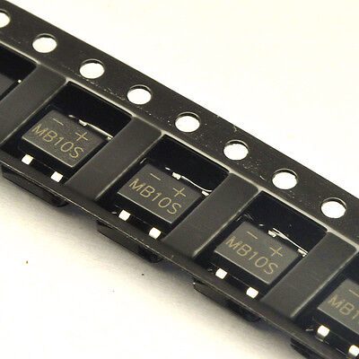 MB6F MB6S MB10S 600V 1000V - Free P&P SMD SOP-4 Rectifier Bridge Diode