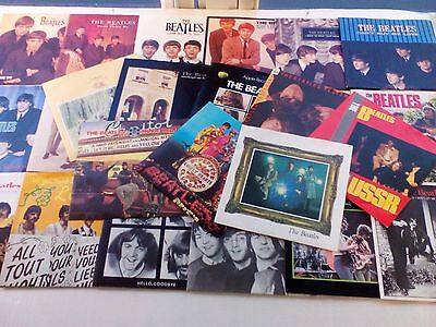 "The Beatles - Singles Collection - UK 1976 26 x 7"" singles in picture sleeves"