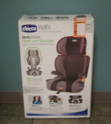Chicco Kidfit 2-IN-1 Belt Positioning Booster Atmosphere Multi-Color Brand New