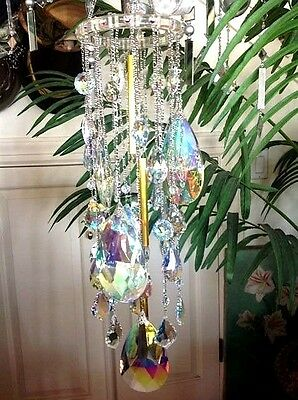 Kirks Folly Dance Of The Crystal Queen Chandelier Wind Chime ~Never Released!~