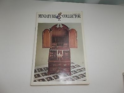 Miniature Collector Doll Dollhouse Magazine February 1978