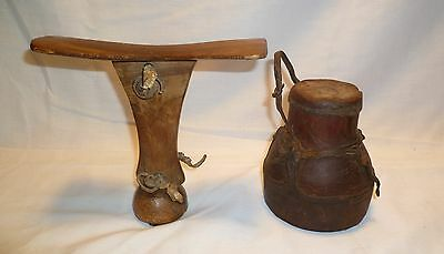 African Headrest and Container