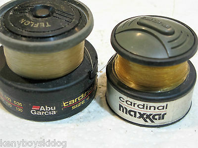 Abu Garcia + Cardinal Spare Spools - Light Used Good Working Parts