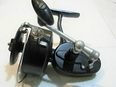 GARCIA MITCHELL 306 FISHING REEL WORKS GREAT FRANCE made OLD LOOKS LIGHT USED