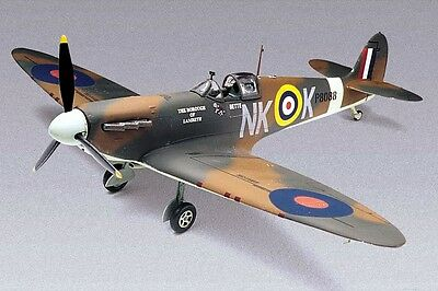 Spitfire MK-II Fighter Airplane 1/48 scale skill 2 Revell plastic model kit#5239