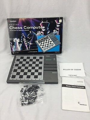 Radio Shack Master Chess Computer Game 32 Pieces Instructions  Rules Of Chess..