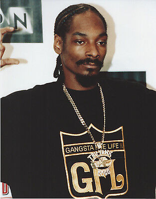 Snoop - Dog 8 X 10 Photo With Ultra Pro Toploader
