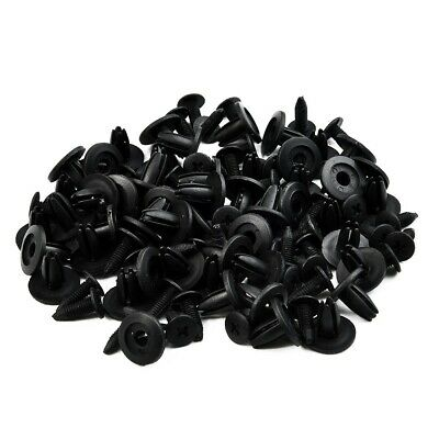 Car Door Fender 6mm Hole Trim Panel Screw Rivets Fastener Clips 50x for Toyota +
