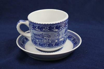 Shenango Baltimore & Ohio Railroad China Cup & Saucer Harpers Ferry W.v.