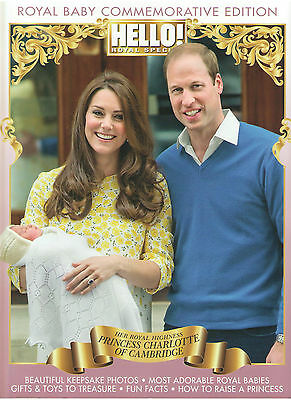 Hello! Canada 2015 Royal Baby Prince William Kate Princess Charlotte New Nmint