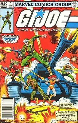 Us Comics G.i. Joe #1-155 Collection On Dvd