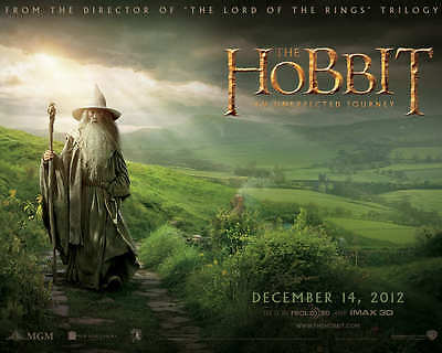 The Hobbit The Lord Of Rings  Mini Laminated Movie Print Poster Gandalf