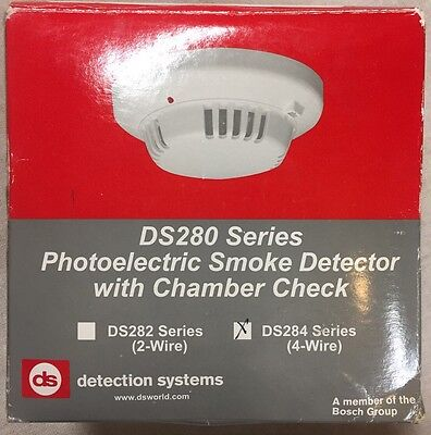 New Detection Systems Ds284 4-Wire Photoelectric Smoke Detector