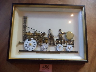 Stephensons Rocket Picture Watch / Clock Parts Steam Train