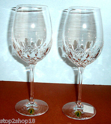 Waterford Lismore Essence Goblet 2 Piece Set #143781 New In Box
