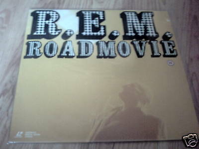 Rem Road Movie Laser Disc