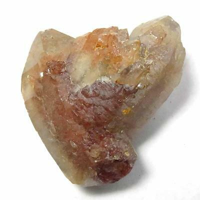 Red Hematite Included Quartz Crystal Cluster From Izizauen Alnif, Morocco  Rq195
