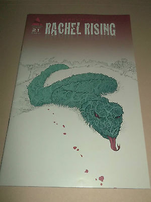 Rachel Rising ( Terry Moore ) Abstract Studio Comic # 21 Super Condition