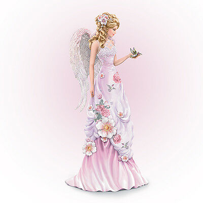 Angelic Beauty Angel Figurine - Lena Liu Bradford Exchange