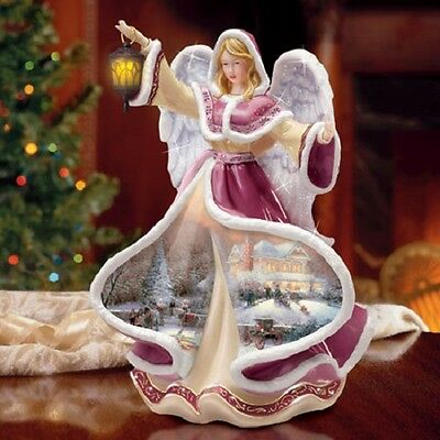 Angel of Hope Winter Angels of Light by Thomas Kinkade Bradford Exchange