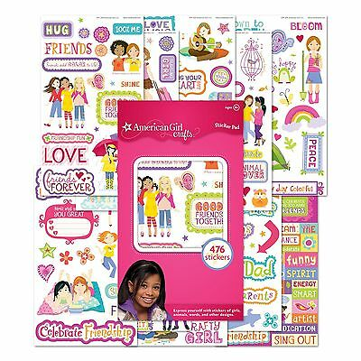 EK Success American Crafts-Girls Sticker Pad