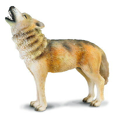 *NEW* CollectA 88341 Timber Wolf - Howling Model Figurine