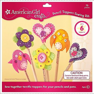 EK Success American Girl Crafts Pencil Toppers Sewing Kit