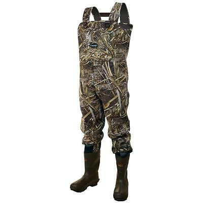 Frogg Toggs Amphib 3.5 Neoprene Realtree Max-5 Bootfoot Chest Waders