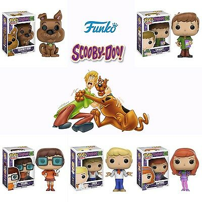 Pop!: Scooby Doo Fred Daphne Velma Shaggy and Scooby Vinyl Figures! Set of 5