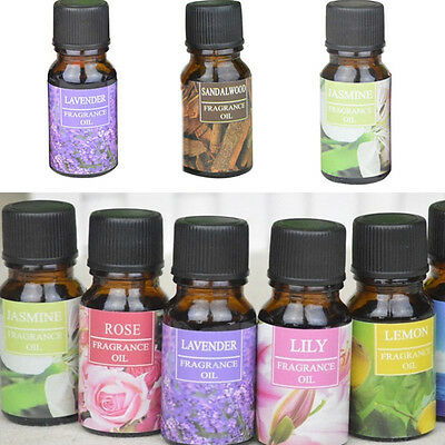 Natural Pure Essential Oils Therapeutic Grade Aromatherapy Water Solubility 10ML