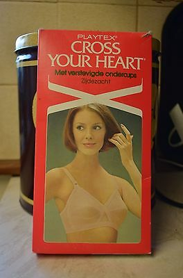 40C Vintage Playtex Cross Your Heart Bra NEW BOXED 7652