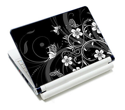 """Flower Decal Laptop Sticker Protector Skin For 13.3"""" 14"""" 15"""" 15.4"""" 15.6"""" Laptop"""